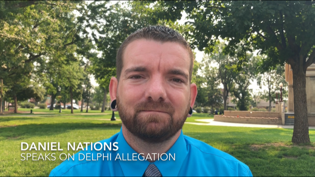Daniel Nations 'disgusted' by Delphi killing allegations