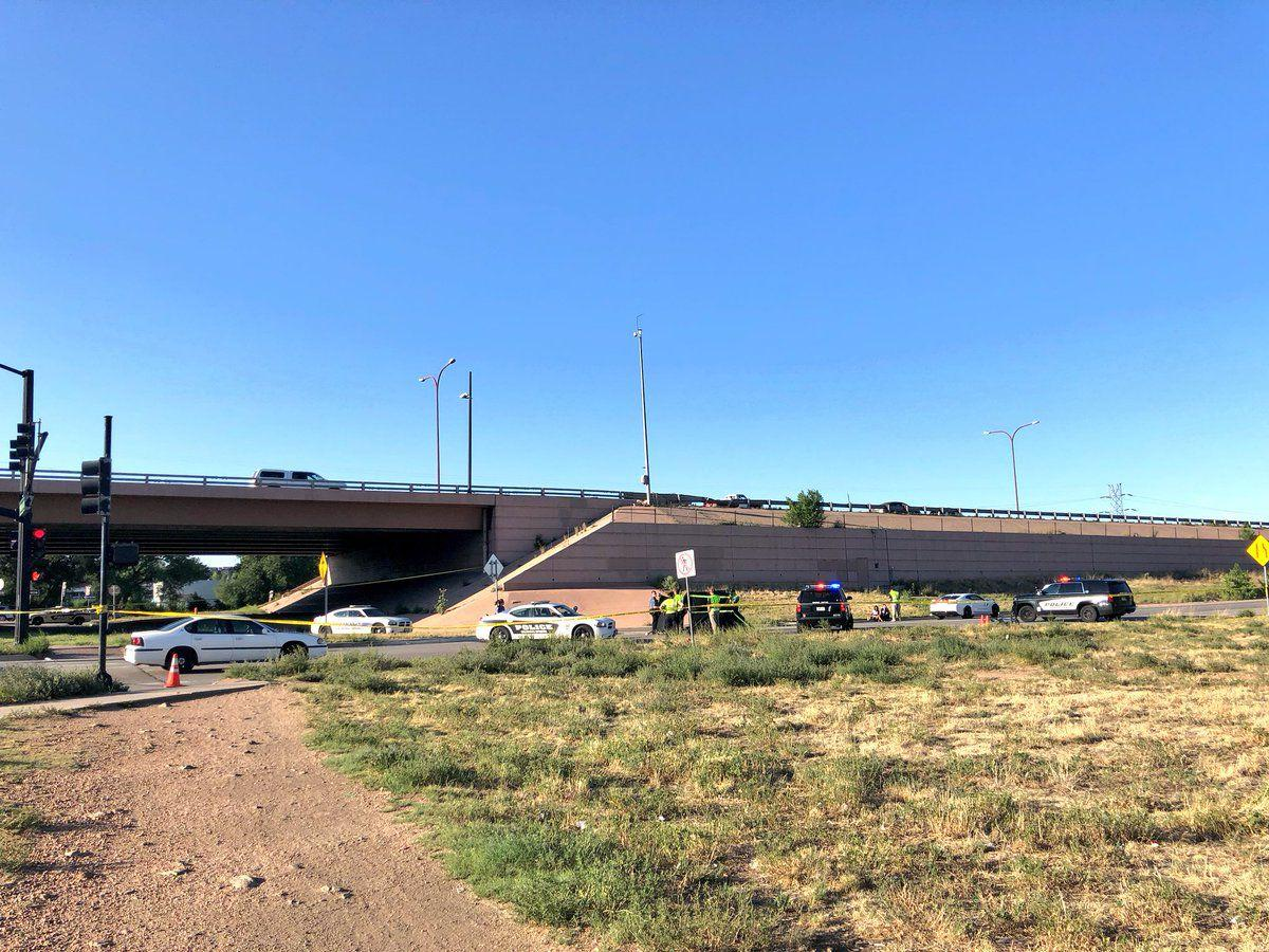 One dead in auto-cyclist crash south of downtown Colorado Springs