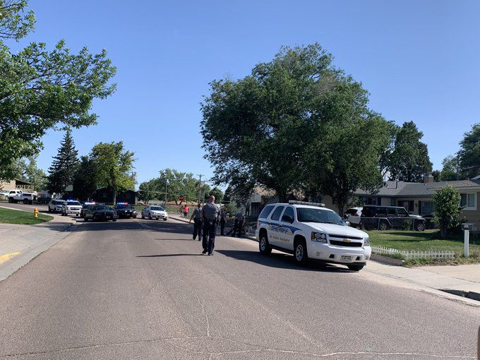 EPSO on scene at shooting in the 700 block of Widefield Drive
