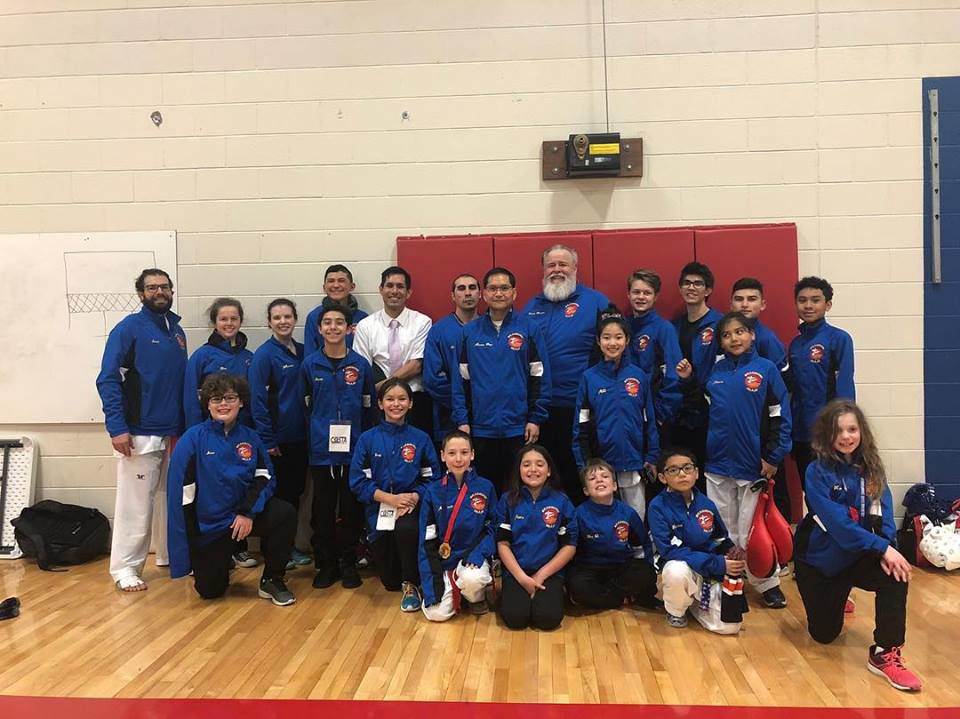 U.S. Taekwondo Center teams nab medals while taking first place in state