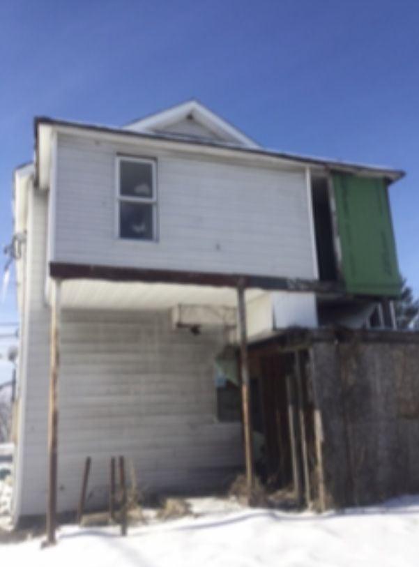 Douglas Bruce's property in Pittston, Penn.