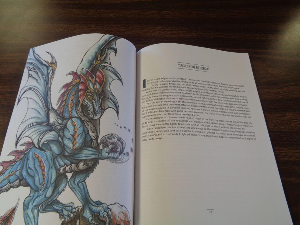 Writer/illustrator creates fantasy book with a spiritual message