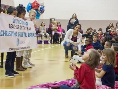 Christina Randle promotes teaching profession