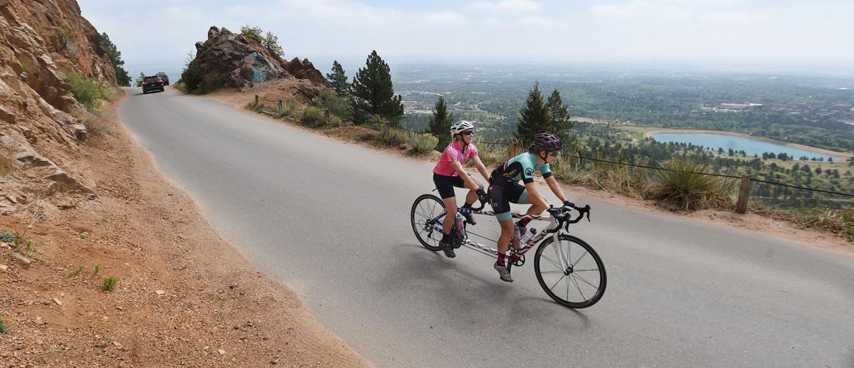 Colorado Springs cycling camp gives blind athletes a leg up in competition