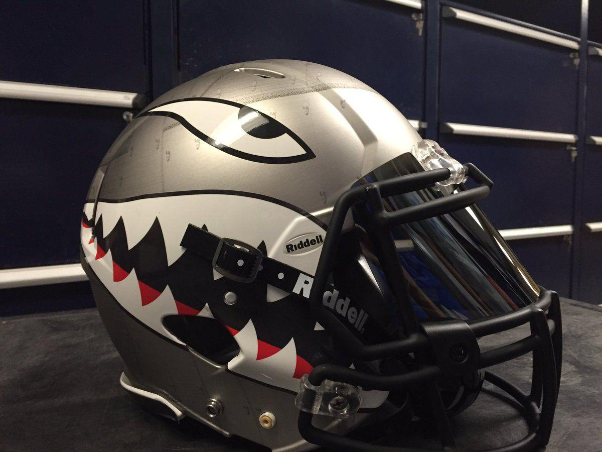 'Shark Week' bringing attention to Air Force and its unique helmet design