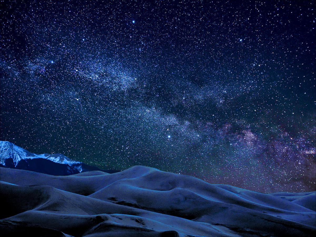 dunes night skies