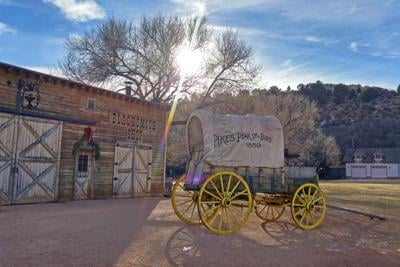 Photo of the Week: 'Cool morning sun' at Rock Ledge Ranch (copy)
