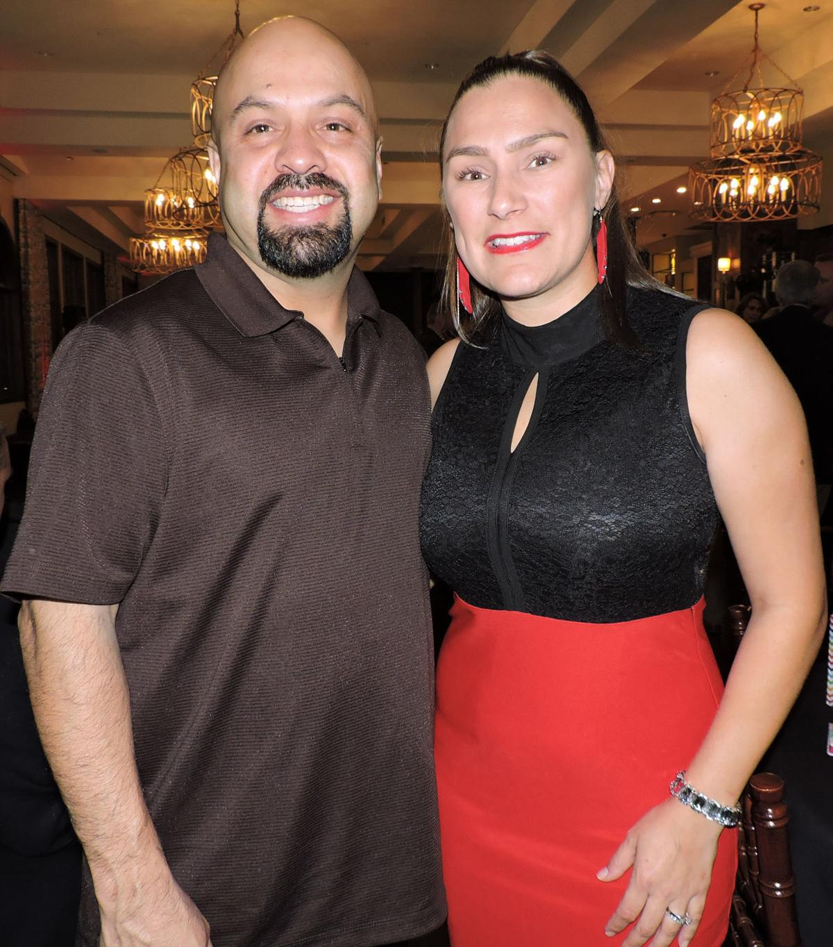 Enjoying their first nonprofit gala, Koats 4 Kids, and their first time at The Pinery were Sergio and Rosa Cabrera. 102116 Photo by Linda Navarro