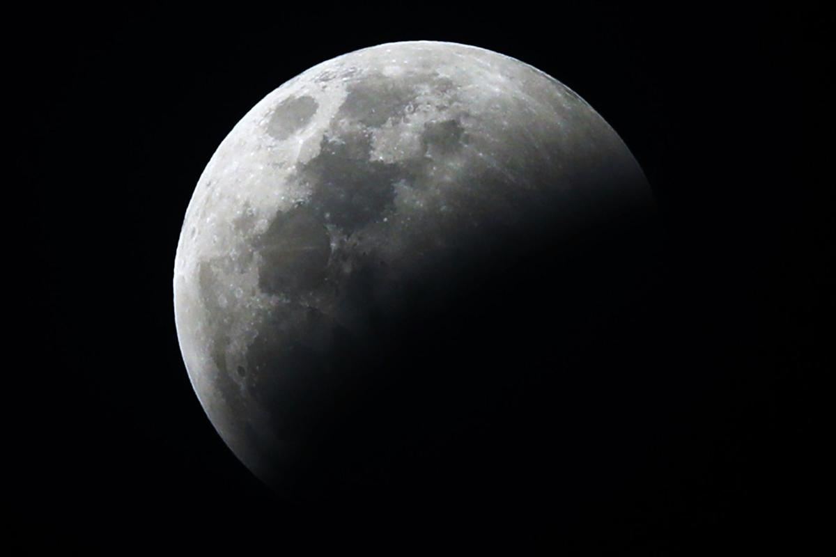 Mexico Lunar Eclipse