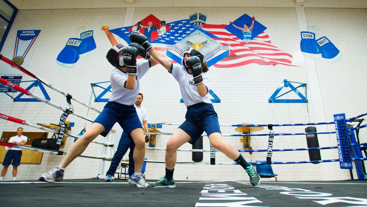 Air Force Academy adds women's boxing to keep up with new gender