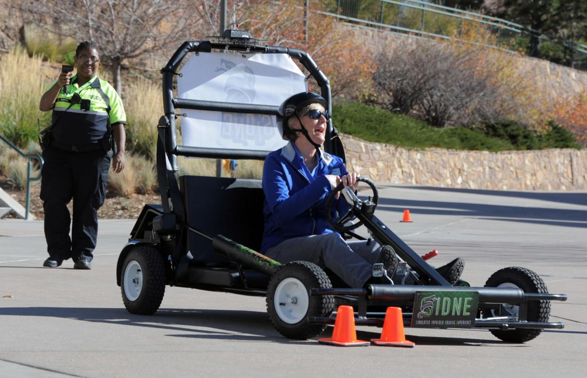 'Prevention tool' gives UCCS students a feel for impaired driving