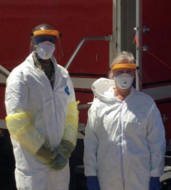 Colorado National Guard, local veterans assist COVID-19 testing