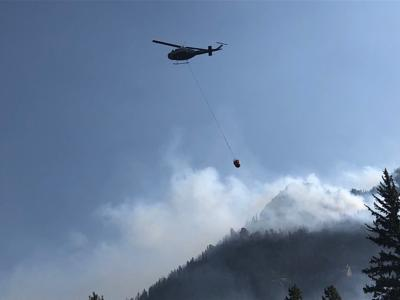 Cameron Peak fire