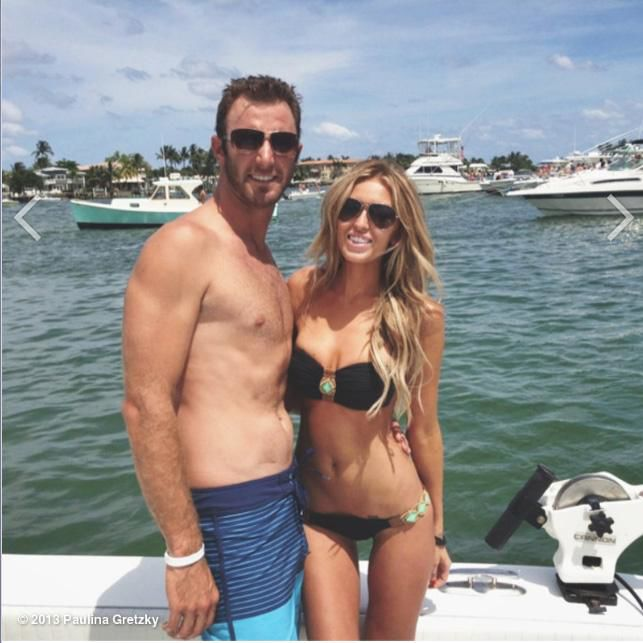 Paulina Gretzky Inspires Dustin Johnsons Instagram Sexting