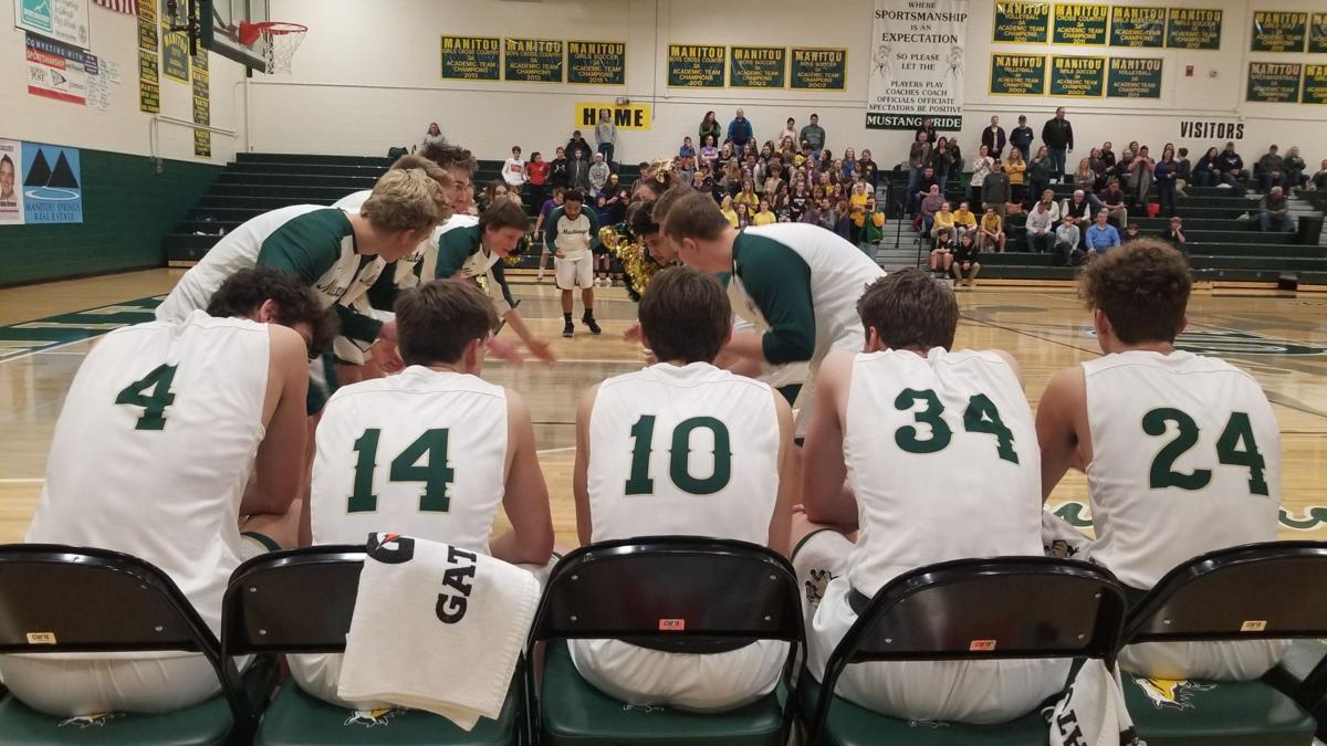Manitou Springs boys basketball