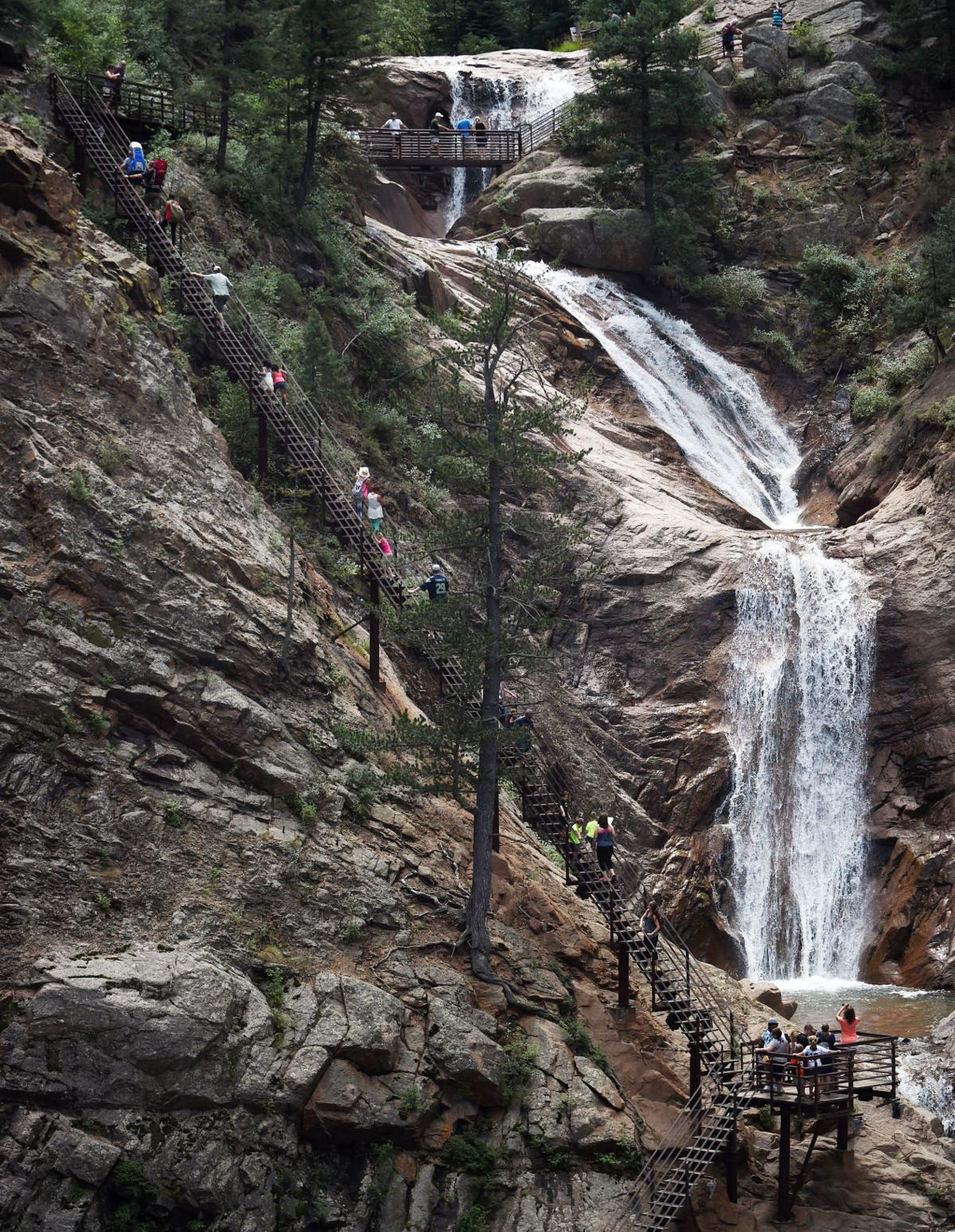 Seven Falls reopens to visitors