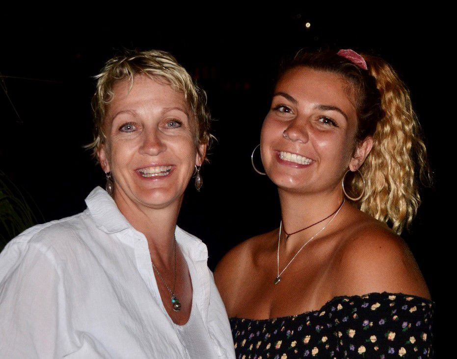 Jill Tiefenthaler and daughter Olivia Rask
