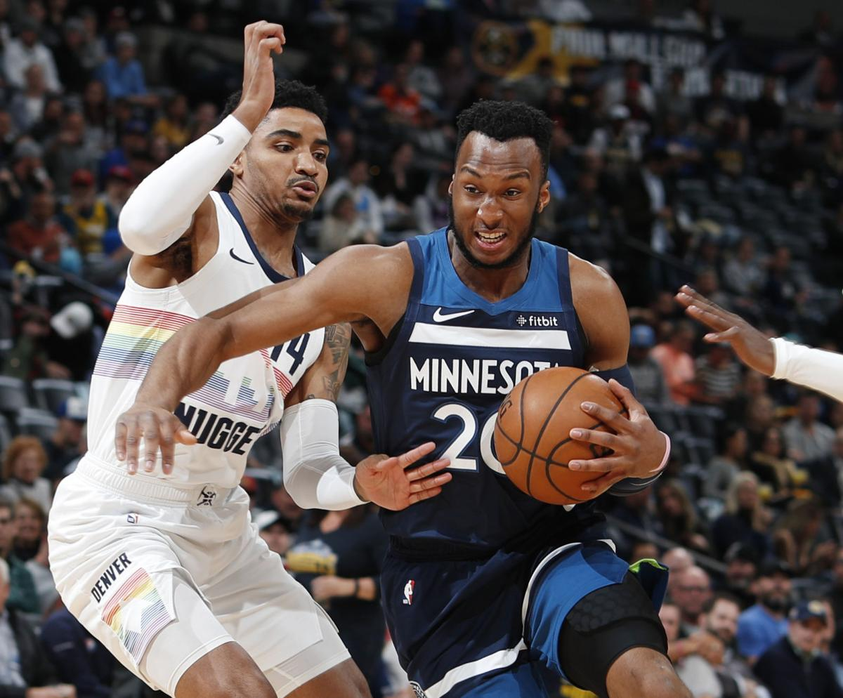 Timberwolves Nuggets Basketball