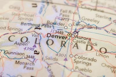 Map Of Colorado Photo Credit: 200mm (iStock).