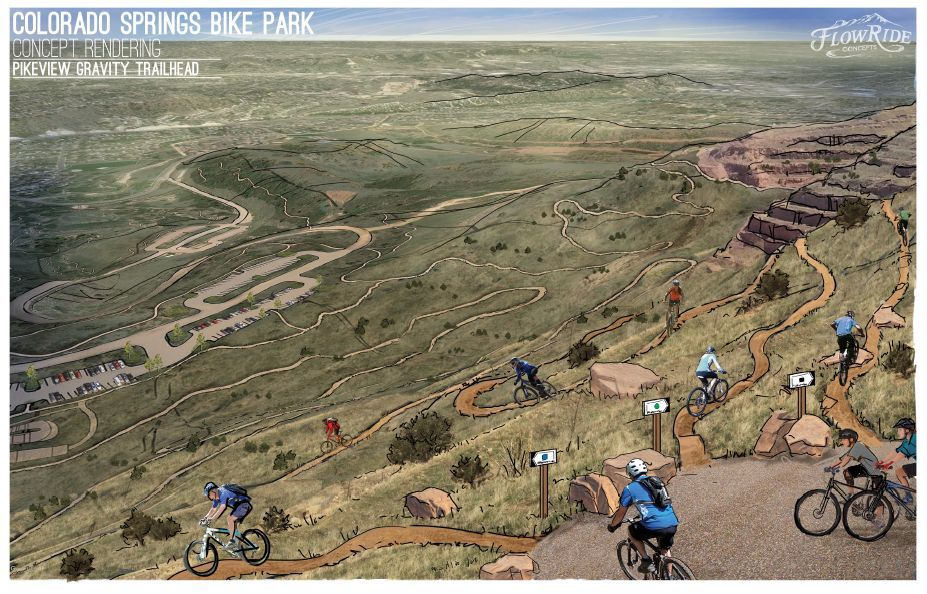 EDITORIAL: El Pomar grant for bike park could help fix scar on the mountain