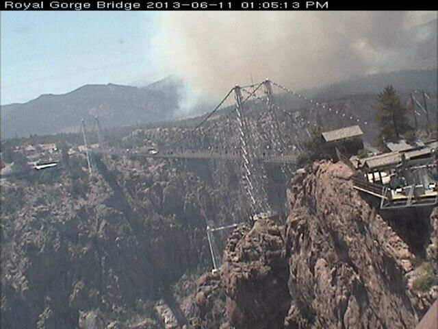 Royal Gorge fire, June 11-12