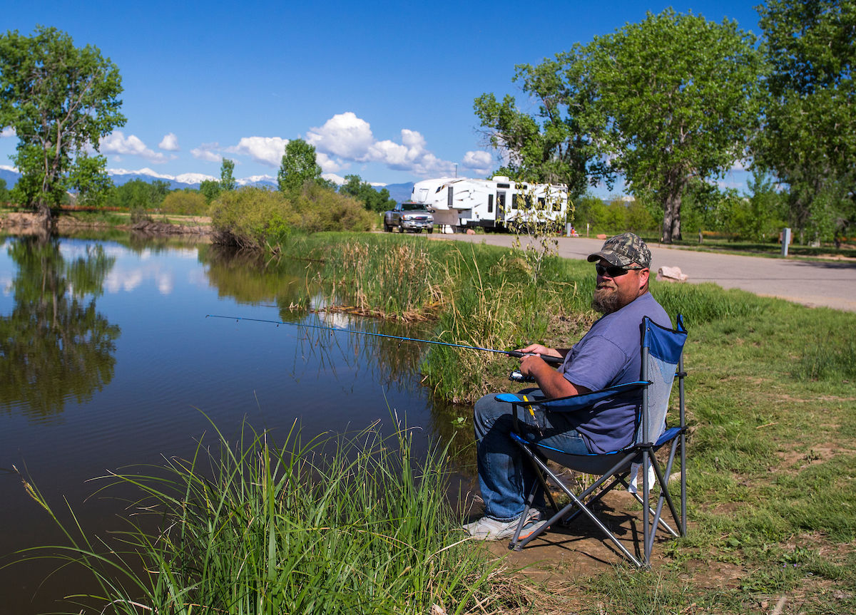 St. Vrain State Park is a beautiful getaway from city life