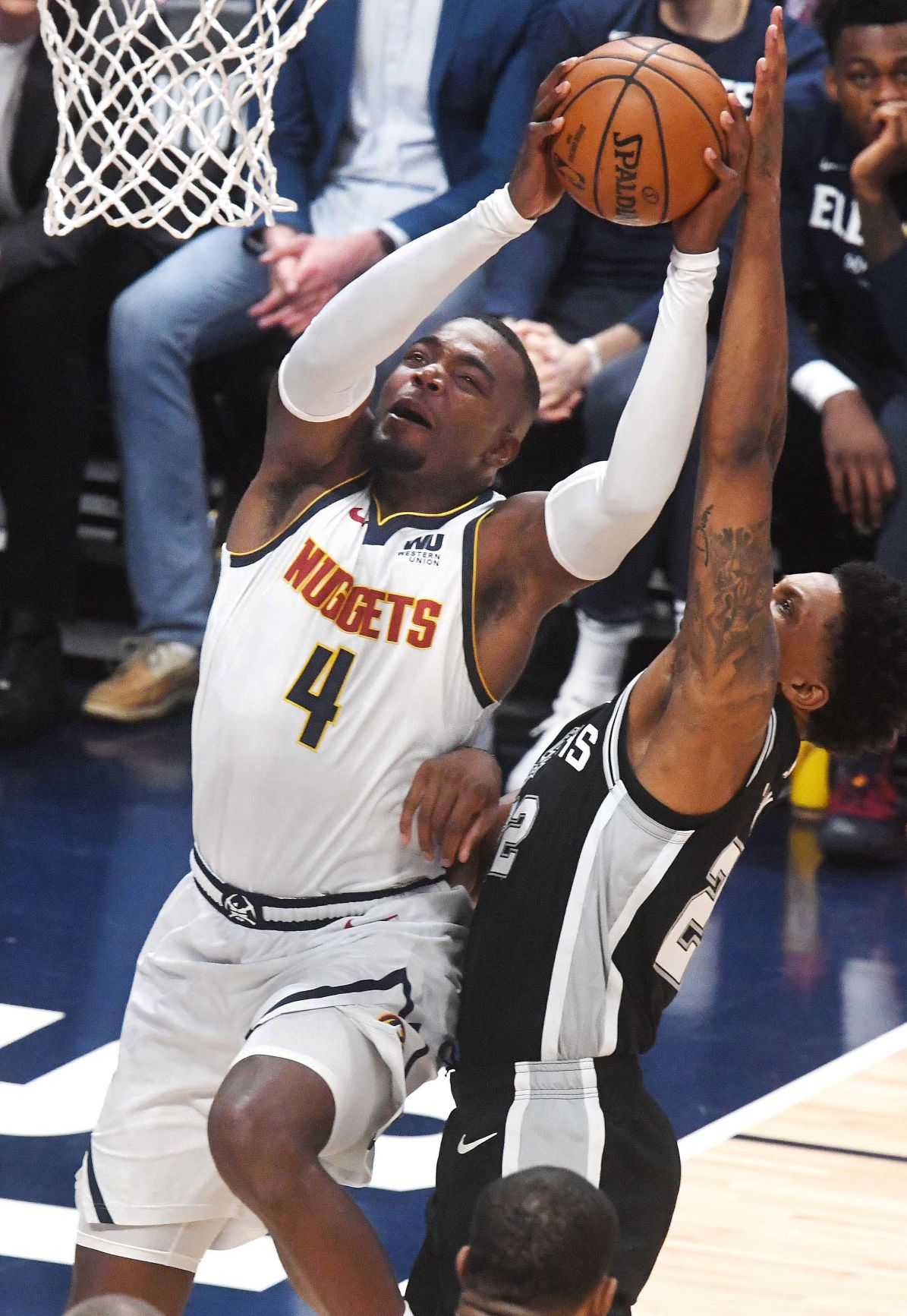 Nuggets Spurs game 2