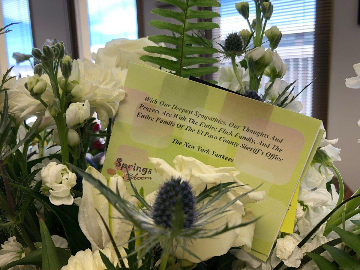 New York Yankees Send Flowers Card For Slain Colorado Springs