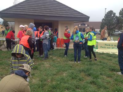 Monument residents keep their community spic and span at annual cleanup day (copy)