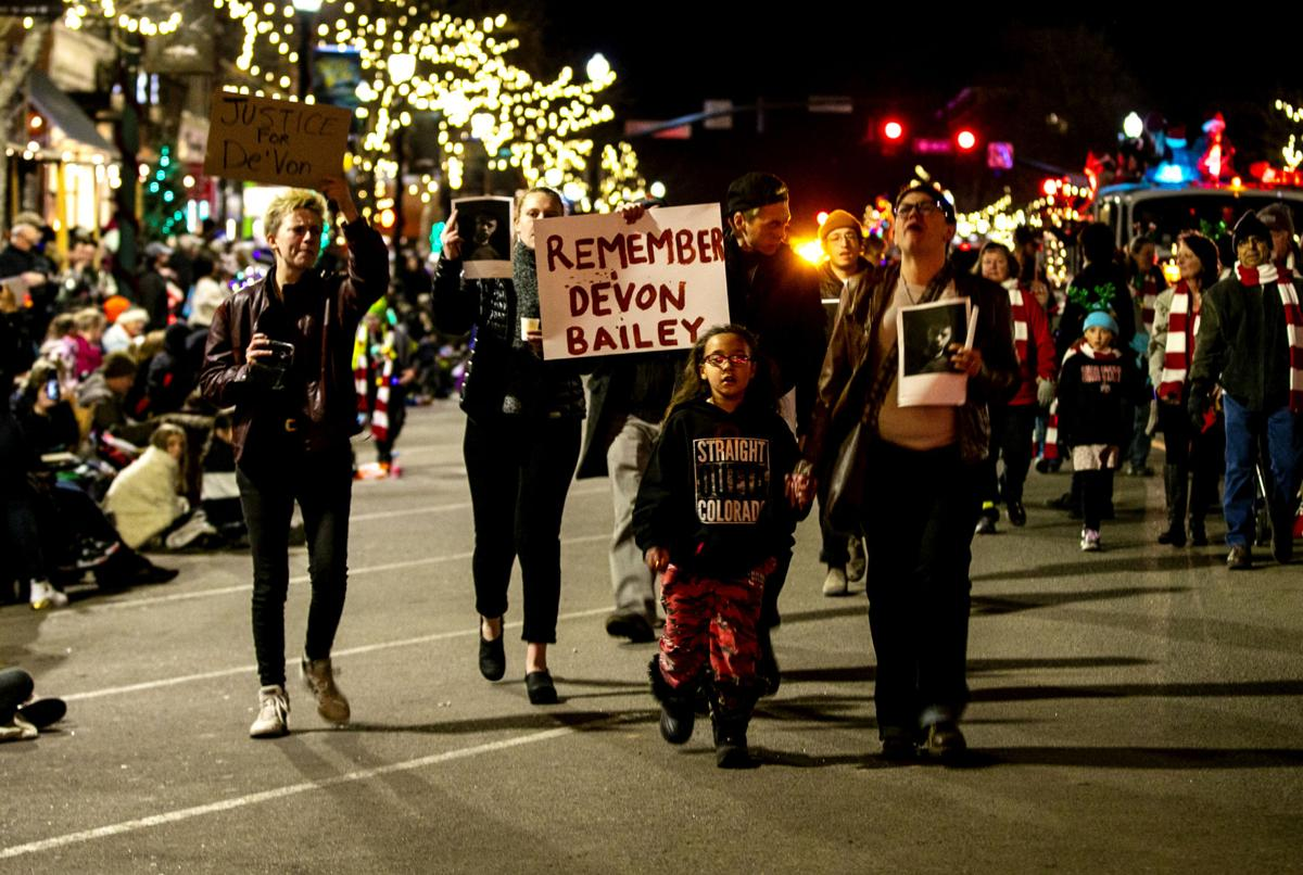 De'von Bailey Parade Protest