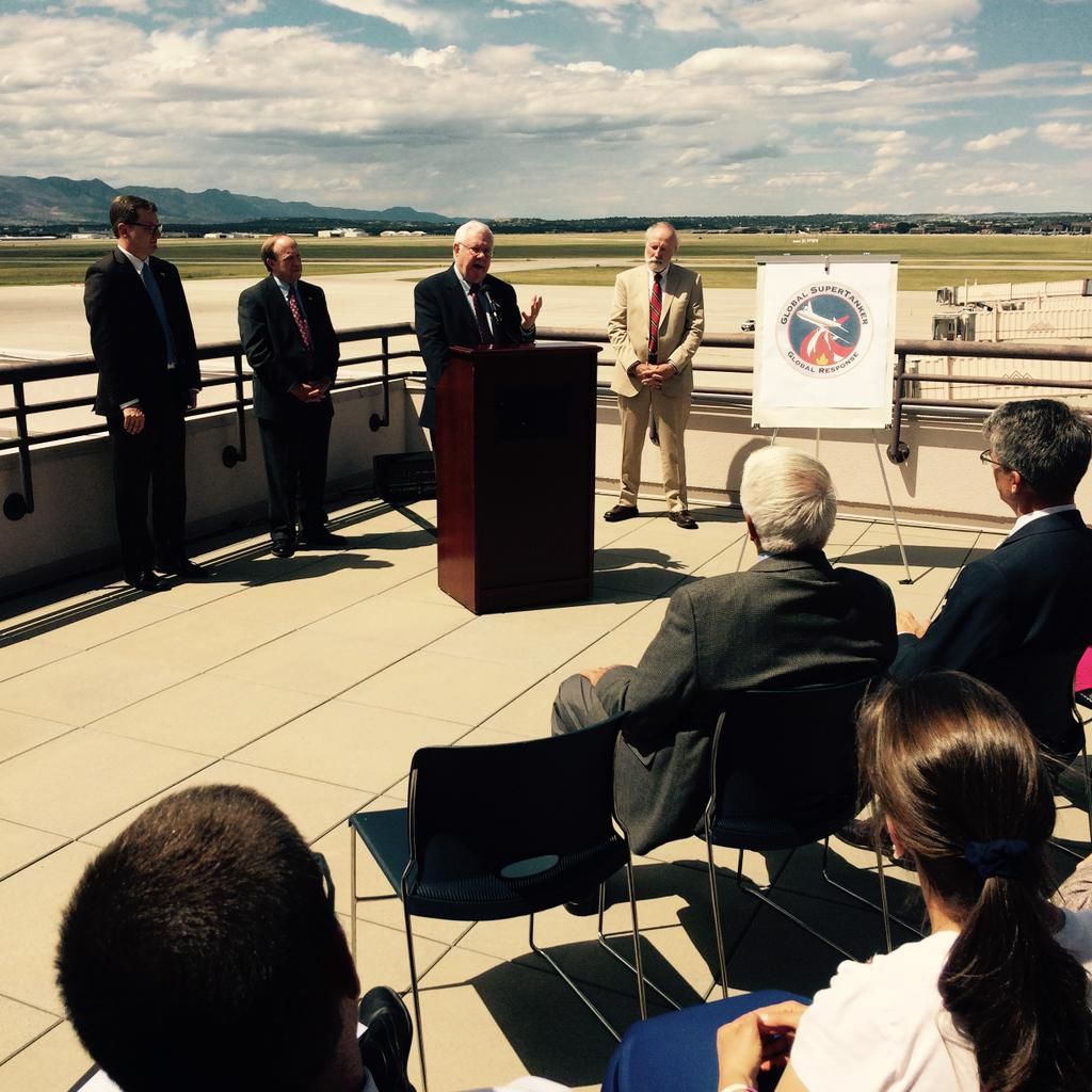 Colorado Springs Airport will house largest firefighting aircraft in country