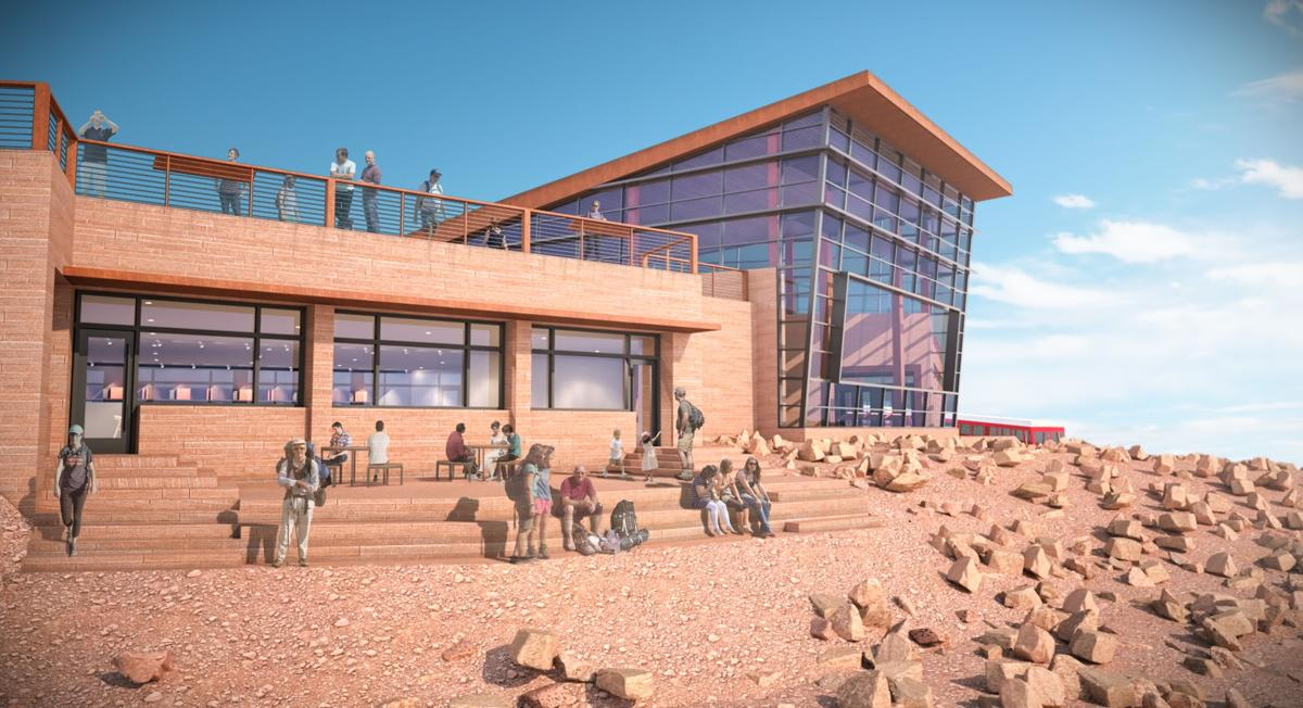 Design selected for Pikes Peak Summit House will let the views take center stage