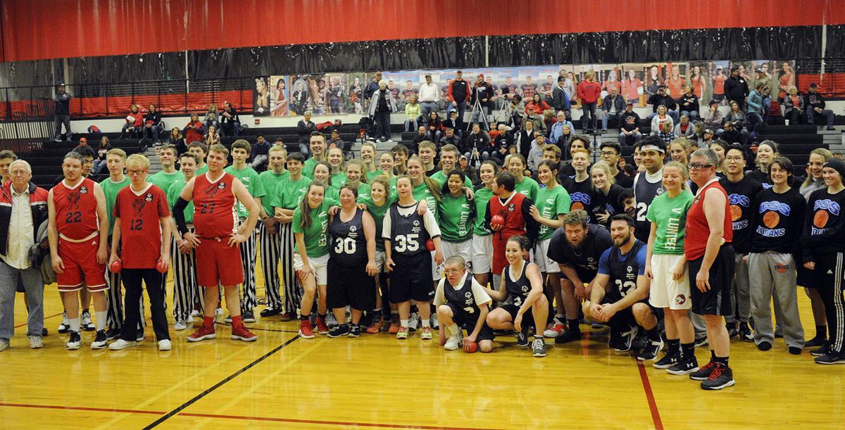 PHOTOS: Special Olympics Basketball Exhibition