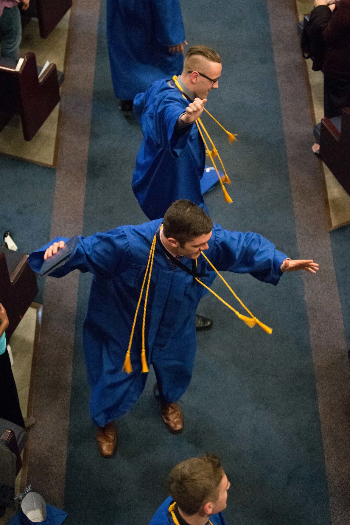 Graduation exercises for Evangelical Christian Academy were held on Friday, May 22, 2015 at Village Seven Presbyterian Church. Photo by Isaiah J. Downing