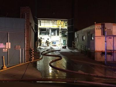 Turbine catches fire in downtown coal-fired Martin Drake Power Plant