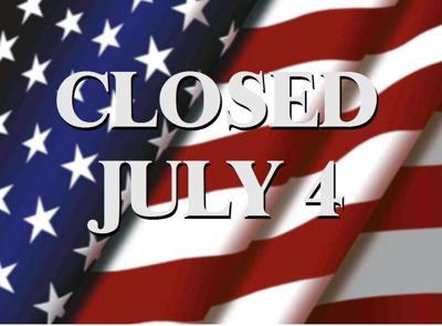 CLOSED-JULY-4
