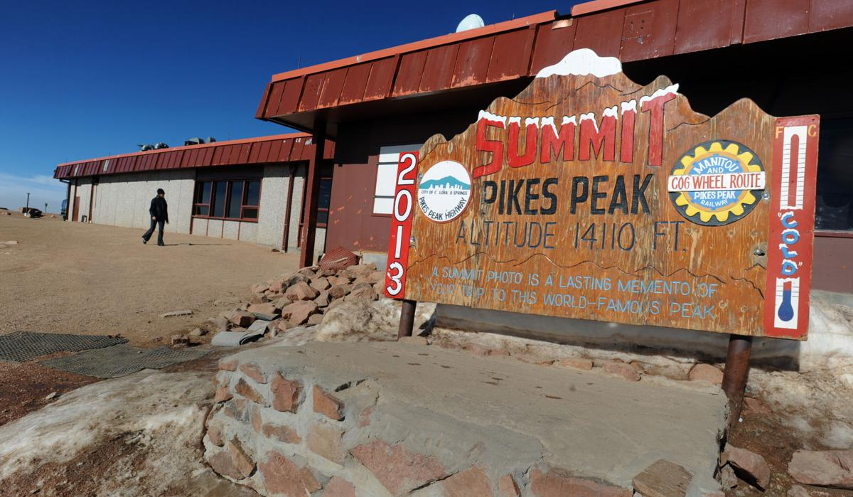 Pikes peak summit house