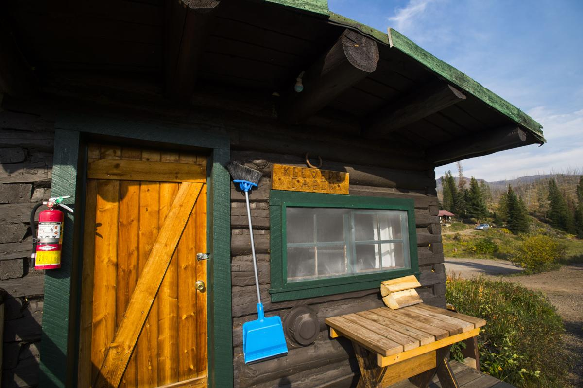 The morning sun shines on Cabin 9 Wednesday, Sept. 7, 2016, at Trappers Lake Lodge in northwest Colorado. (The Gazette, Christian Murdock)