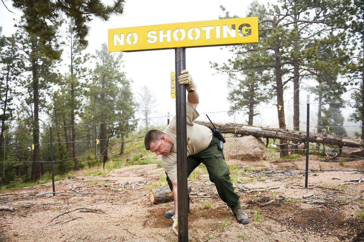 Forest Service considers sport shooting changes