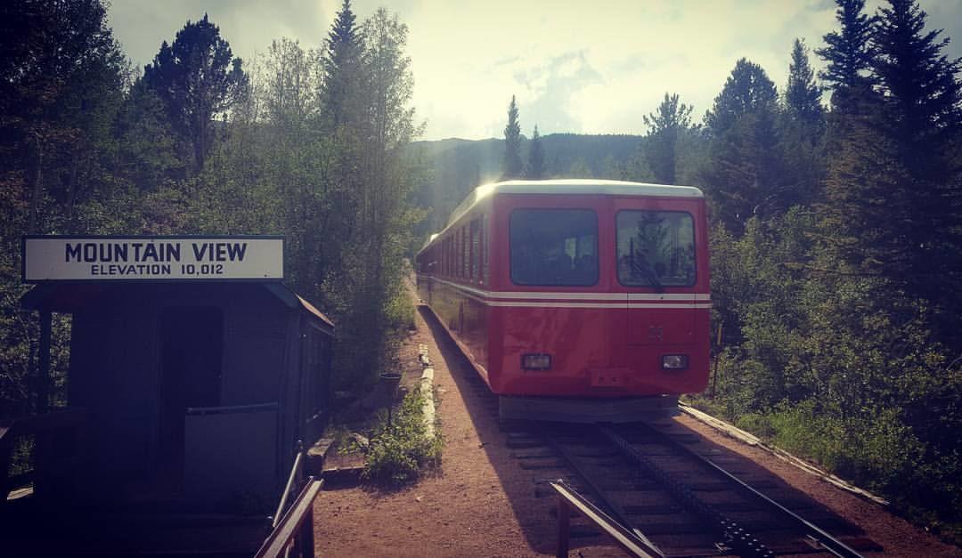 The Broadmoor Pikes Peak Cog Railway a unique way to summit Pikes Peak