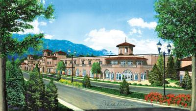 (CHEYENNE) Broadmoor exhibition hall expansion