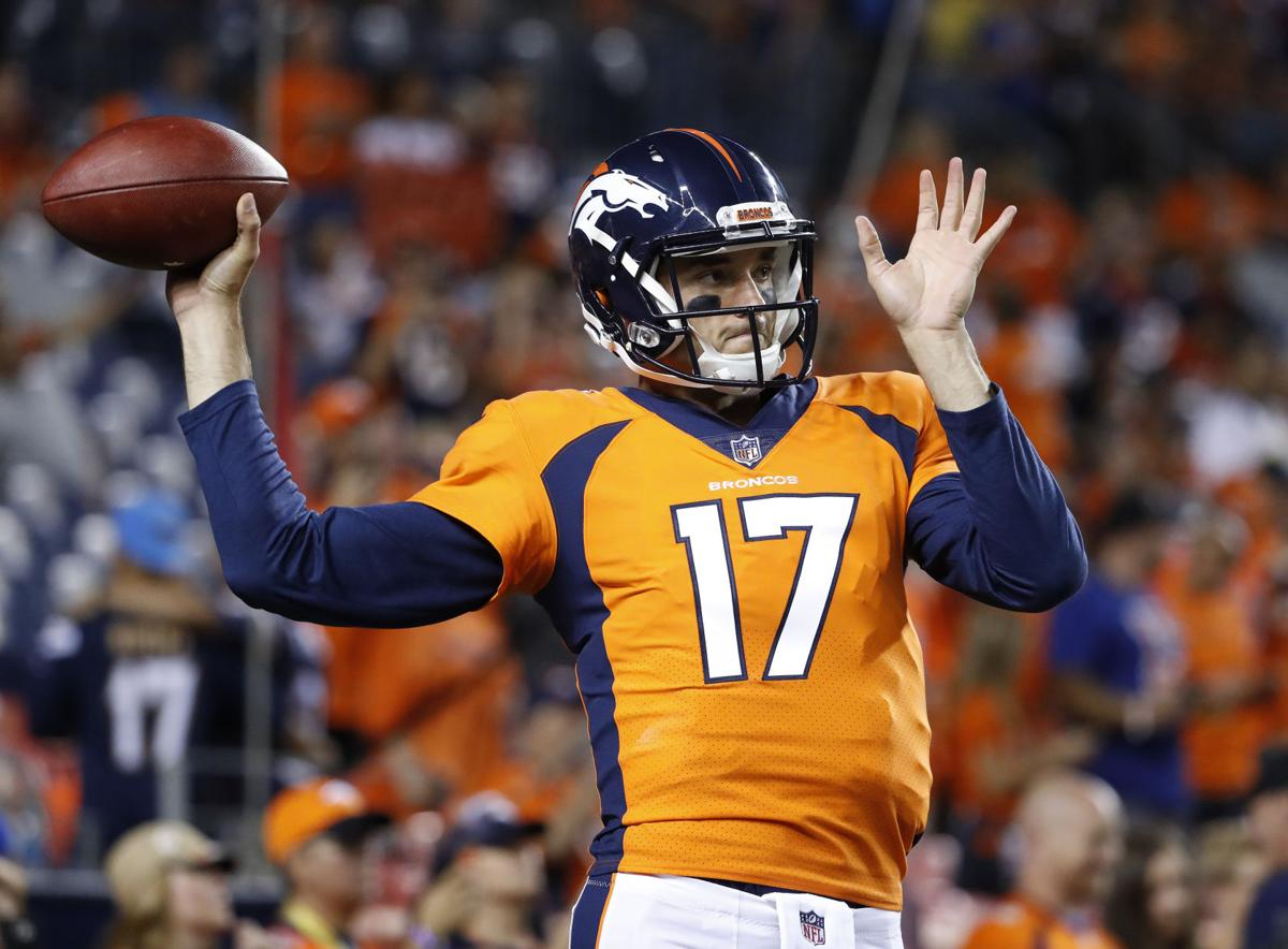 Woody Paige: Brock Osweiler could find himself in spotlight