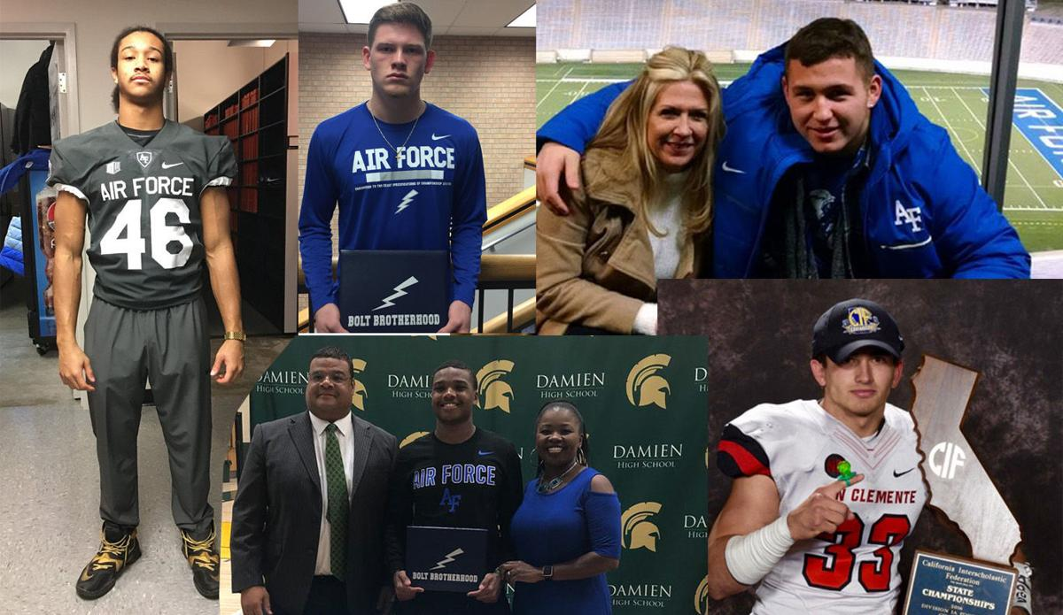 Air Force football signing day: Full list of the Class of 2018