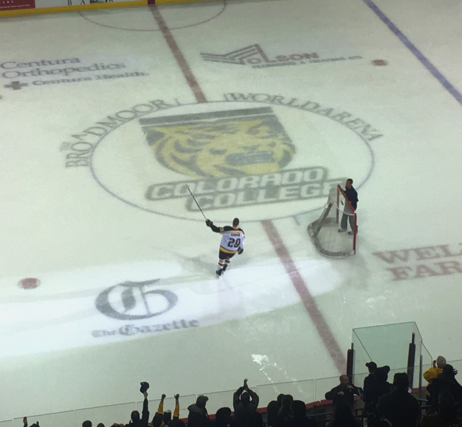 One Is Enough, Barely, As Colorado College Runs Up Against Hot Alabama-Huntsville Goalie In Home Opener