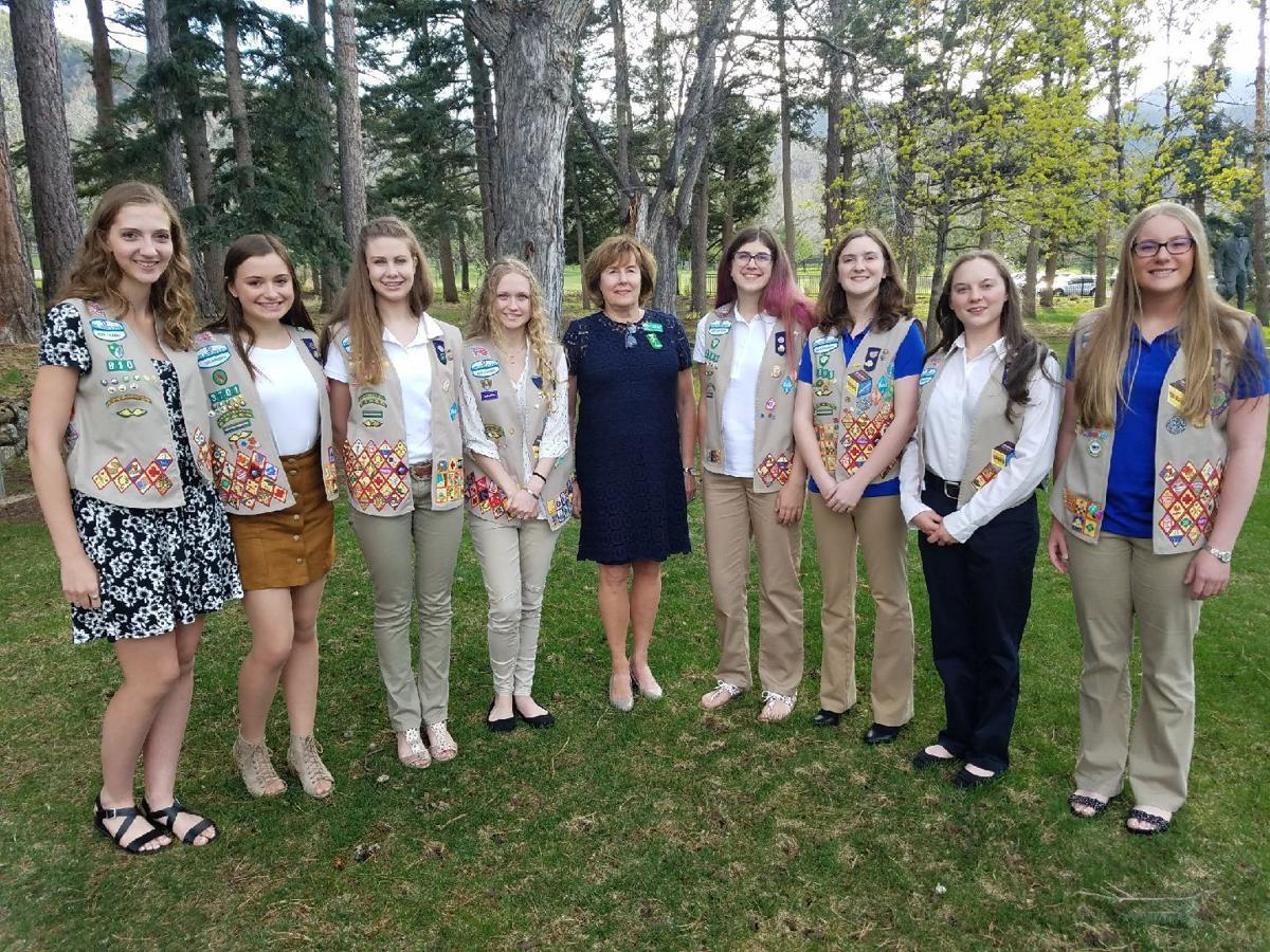 Colorado Springs Girl Scouts earn highest awards