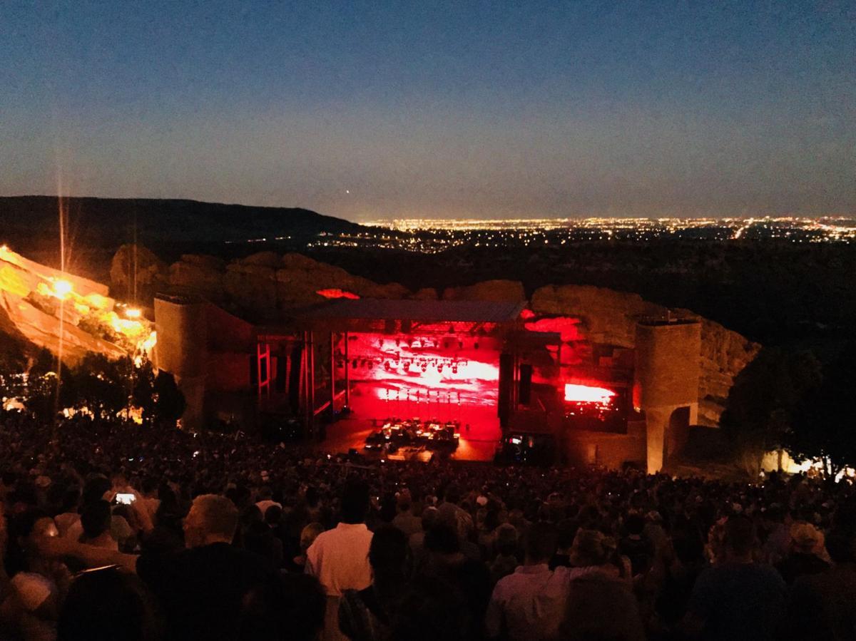 Red Rocks Amphitheatre 2018 concert lineup