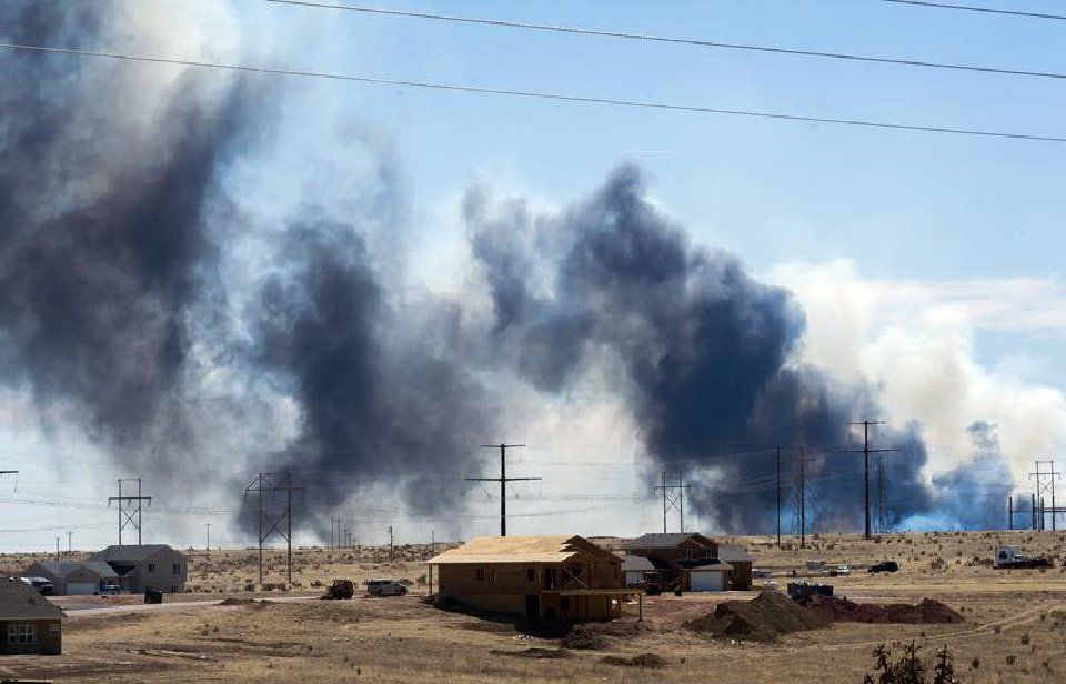 Fort Carson confirms 3,300-acre fire sparked by live-fire training