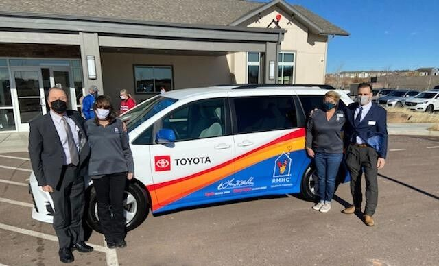 Local Ronald McDonald House gifted a van to help with transportation