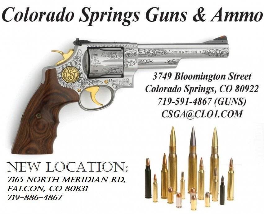 Colorado Springs Guns & Ammo presents its new Falcon Location