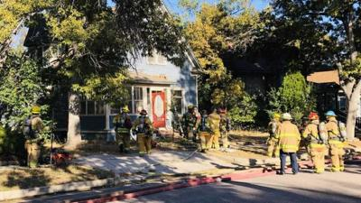 House fire extinguished in Old Colorado City